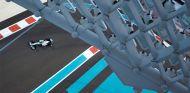 Nico Rosberg en el Gran Premio de Abu Dabi 2013 - LaF1