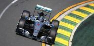 Nico Rosberg, al frente en el primer día de rodaje en Australia - LaF1