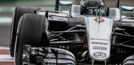 Rosberg durante el GP de México esta temporada - LaF1