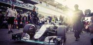 Rosberg antes de comenzar una carrera esta temporada - LaF1