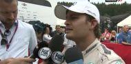 Nico Rosberg en el corralito de las televisiones - LaF1