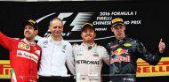 Podio del Gran Premio de China - LaF1
