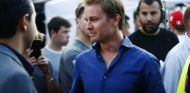 Nico Rosberg durante el F1 Live London - SoyMotor.com