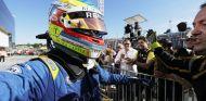 Rowland, tras ganar una carrera de F2 esta temporada - SoyMotor.com