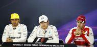 Rosberg, Hamilton y Vettel son los más rápidos en Brasil - LaF1