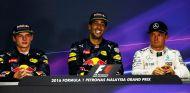 Max Verstappen, Daniel Ricciardo y Nico Rosberg - LaF1