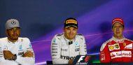 Los tres primeros clasificados del Gran Premio de Italia - LaF1