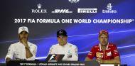 Hamilton, Bottas y Vettel en Abu Dabi - SoyMotor.com