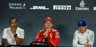 Bottas, Hamilton y Leclerc en Monza - SoyMotor