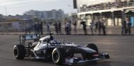 Sergey Sirotkin fue el primer piloto en correr sobre el asfalto de Sochi - LaF1