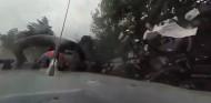 VÍDEO: el accidente de Bottas y Russell, con la cámara de 360º - SoyMotor.com