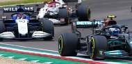 Russell olvidó su lugar en Mercedes en Imola  - SoyMotor.com