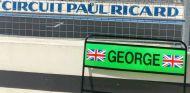 Pizarra de George Russell en el Paul Ricard –SoyMotor.com