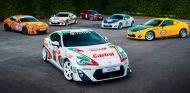 Los seis Toyota GT86 presentes en Goodwood - SoyMotor