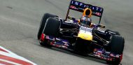 Sebastian Vettel hoy en Singapur - LaF1