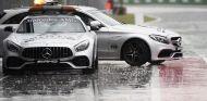 Lluvia en el pit-lane del GP de Italia – SoyMotor.com