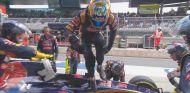 Carlos Sainz en el momento de su abandono - LaF1