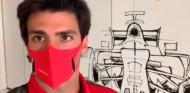 Arranca 2021: Sainz se estrena en el simulador de Ferrari - SoyMotor.com