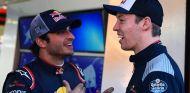 Carlos Sainz y Daniil Kvyat - SoyMotor.com