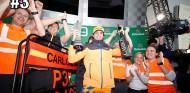 Carlos Sainz en el podio del GP de Brasil F1 2019 - SoyMotor.com