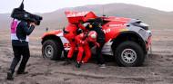 Laia Sanz toma el relevo de Carlos Sainz en la Semifinal 1 del Arctic X Prix - SoyMotor.com