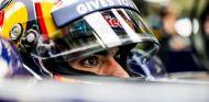 Sainz, durante la sesión de calificación en México - LaF1
