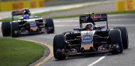 Carlos Sainz y Max Verstappen en Australia - LaF1