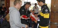 Carlos Sainz, en el evento benéfico del Circuit de Barcelona-Catalunya – SoyMotor.com