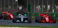 Sebastian Vettel, Lewis Hamilton y Kimi Räikkönen en Australia - SoyMotor.com