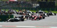 Primera curva del Gran Premio de Bélgica 2016 - SoyMotor