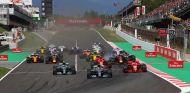 Salida del GP de España 2018 - SoyMotor.com