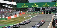 Salida del GP de Gran Bretaña 2017 - SoyMotor.com