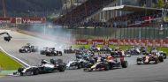 Salida del GP de Bélgica 2014 - LaF1.es