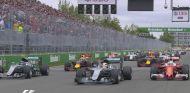 Salida del Gran Premio de Canadá - LaF1