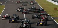 Salida del Gran Premio de Japón F1 2013 - LaF1