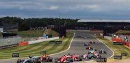 Salida del GP de Gran Bretaña de 2017 –SoyMotor.com