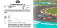 Documento oficial de la FIA e imagen del accidente - LaF1