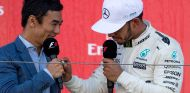 Takuma Sato y Lewis Hamilton en Suzuka - SoyMotor.com