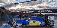 El Sauber C34 de motor Ferrari en Jerez - LaF1.es