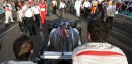 Sauber en la parrilla de salida de Abu Dabi - LaF1