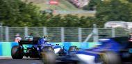 Ambos Sauber durante el GP de Hungría - SoyMotor.com