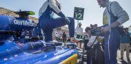 Felipe Nasr saliendo de su C34-Ferrari - LaF1.es
