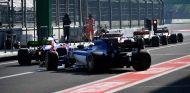 Monoplazas en el Pit-Lane del Autódromo Hermanos Rodríguez - SoyMotor.com
