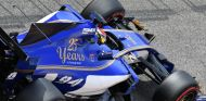 Wehrlein durante los tests en Baréin de esta temporada- SoyMotor