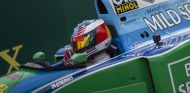 Mick Schumacher en el B194 de su padre en el pasado GP de Bélgica - SoyMotor