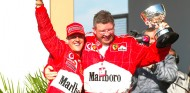 Michael Schumacher y Ross Brawn en Interlagos - SoyMotor.com