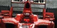 Schumacher en su última victoria en China 2006 - SoyMotor