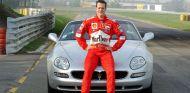 Schumacher, durante su etapa como piloto en Ferrari - LaF1