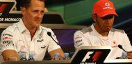 Michael Schumacher y Fernando Alonso en Mónaco - SoyMotor.com