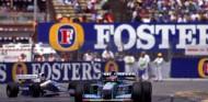 Michael Schumacher y Damon Hill en Adelaida, 1994 - SoyMotor.com